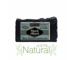 shampoo formato saponetta per manti neri