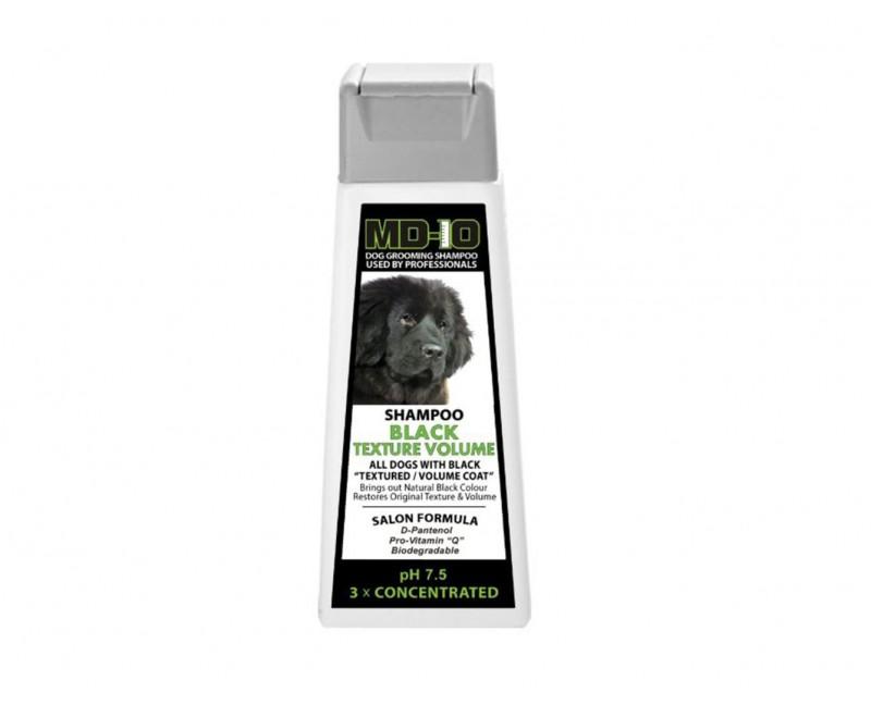 black texture volume shampoo 300ml