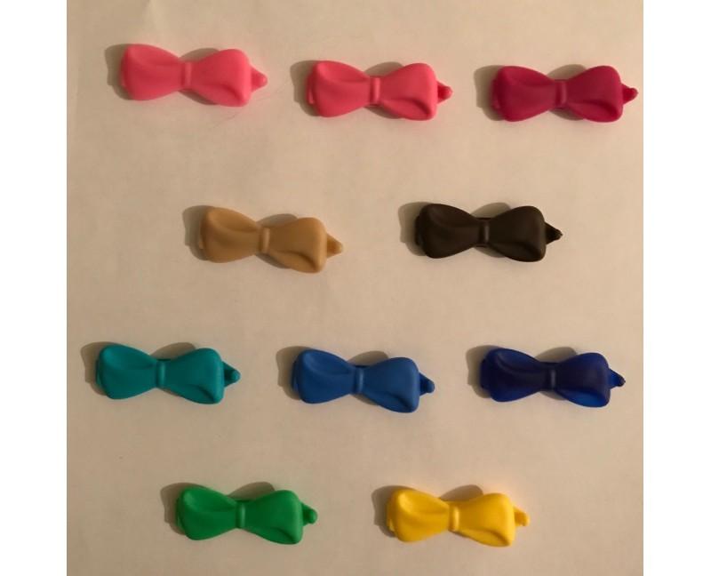 fiocchi in plastica per top-knot