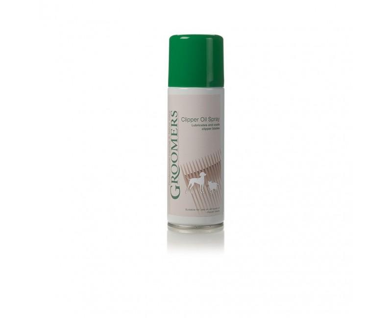 spray lubrificante e rinfrescante per le testine delle tosatrici
