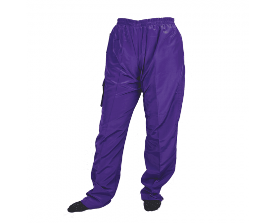 pantalone unisex viola