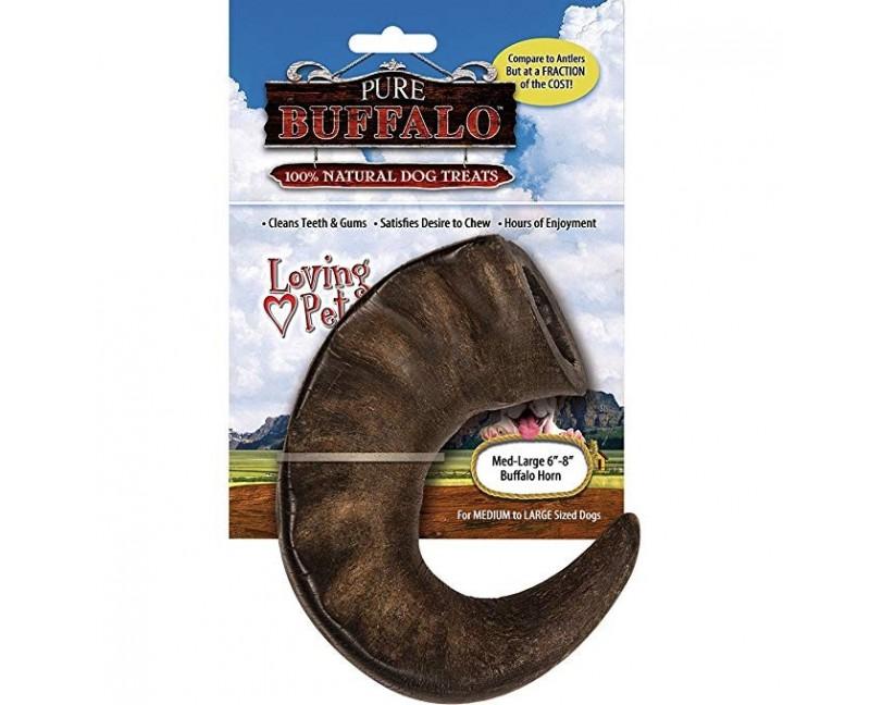 corno di bufalo 18cm circa per cani di taglia media/grande