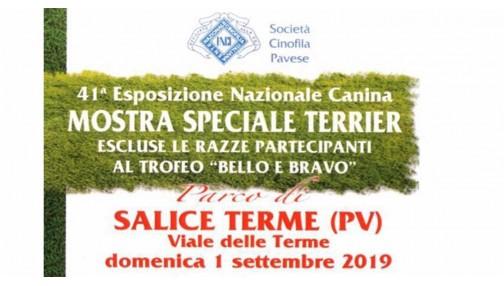 Esposizione Nazionale canina 1 Settembre 2019 Salice Terme (PV)